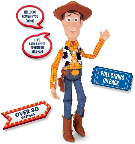 woody figura de accion disney pixar toy story 4