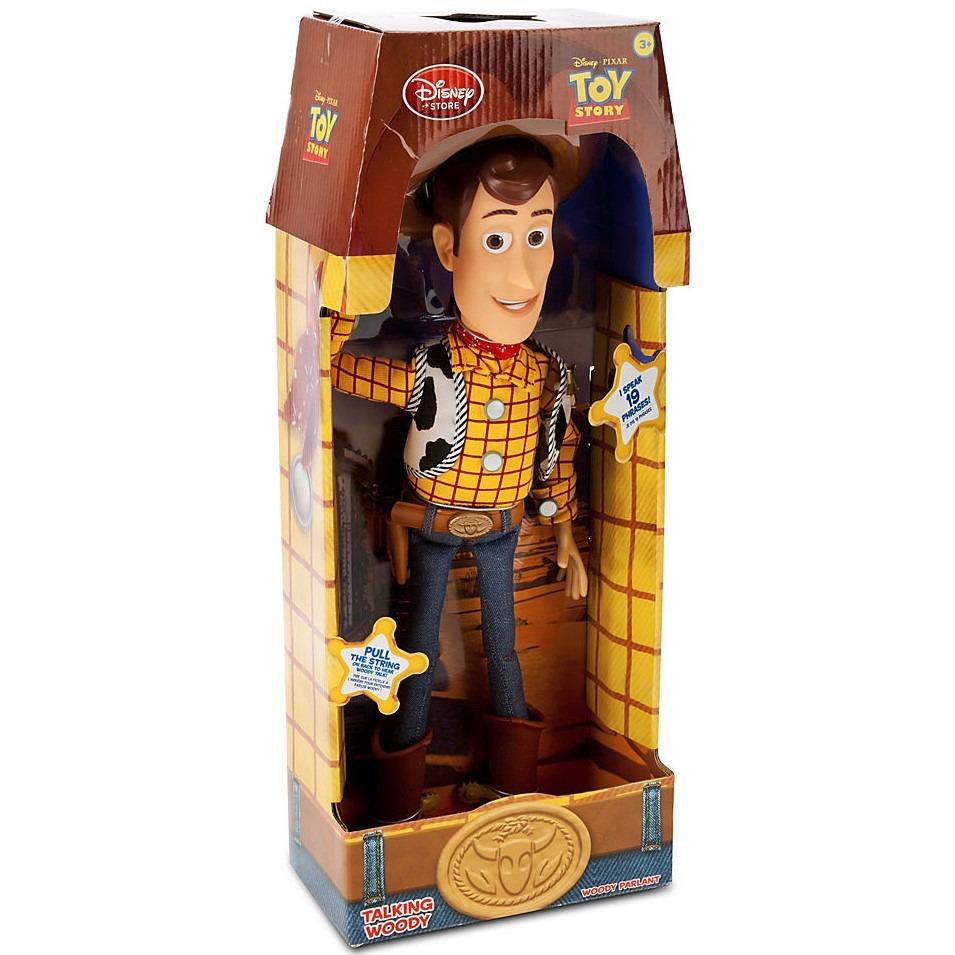 woody muñeco toy story talking habla! original disney store. Cargando zoom. e71cc658c85
