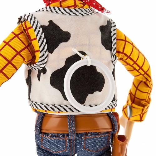 Woody Muñeco Toy Story Talking Habla! Original Disney Store ... f2bbceb78bf