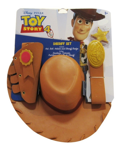 woody sheriff set - toy story 4 - 36640