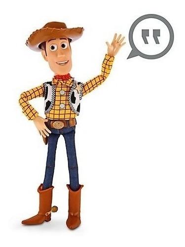 woody toy story 4, vaquero woody con sonidos original disney