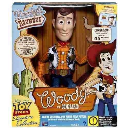 woody toy story disney woody el comisario habla español