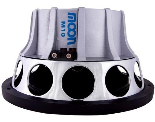 woofer 10 doble bobina moon m10 parlante sub graves 400w