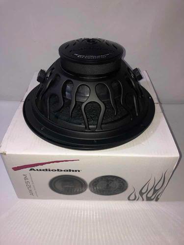 woofer 12 pg doble bobina  audiobahn 400 watts aw1251m