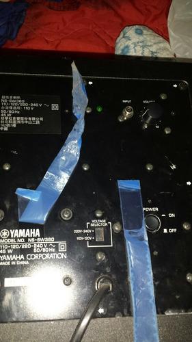 woofer activo yamaha