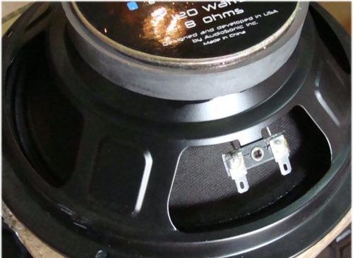 woofer audiopro 8 pulgadas 120 watts 8 ohms nuevo