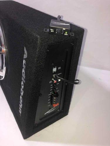 woofer cajón y amplificador 10 integrado para carro abs10amp