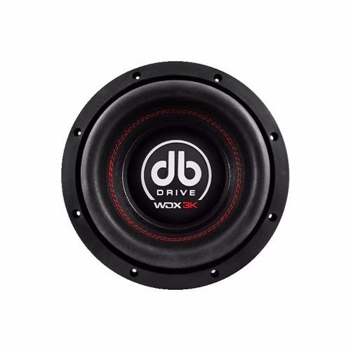 woofer db drive wdx8 3k 8 pulgadas 600w rms 4-ohms