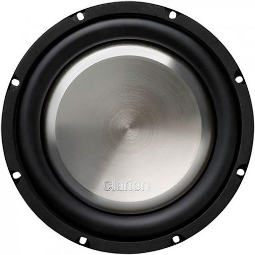 woofer extra plano clarion 10 wf2520d  dob bobina 1000w  max
