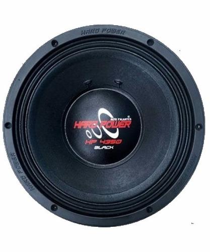 woofer hard power 4350 black 4350 rms 12 polegadas pancadao