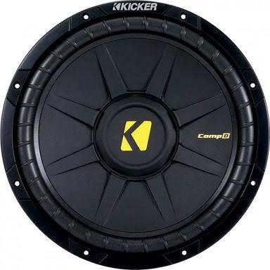 woofer kicker cwd124 12  600w max 4-ohm bobina sencilla