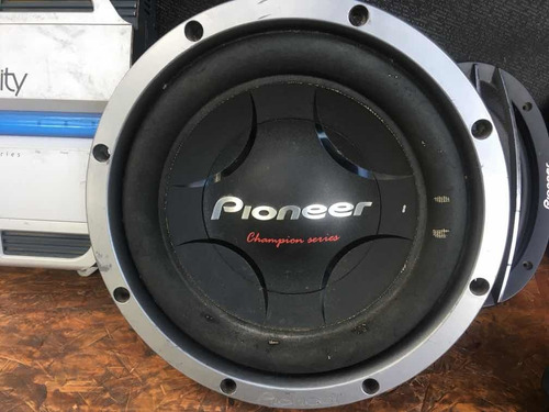 woofer pioneer champion series / 1200w doble bobina 12