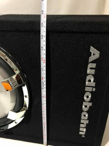 woofer plano con fuente audiobahn abs12amp