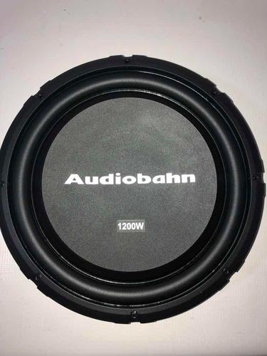 woofer slim audiobahn 12pg  1200w ashallow12