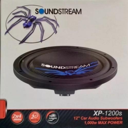 woofer soundstream xp-1200s extraplano de 12 doble bobina