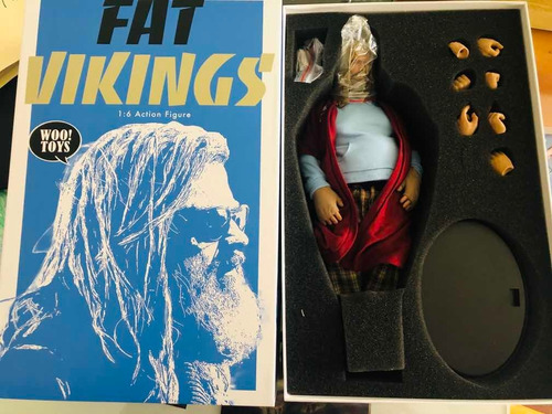 wootoys fat viking thor endgame gordo nuevo 1/6 fpx hot toys