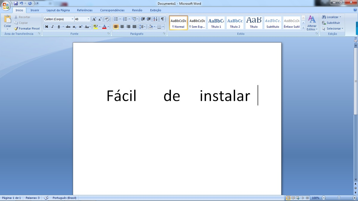 chave pacote office 2007