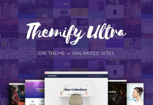 wordpress themify ultra + addons + temas premium