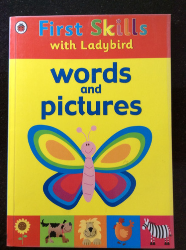 words and pictures (first skills with ladybird)