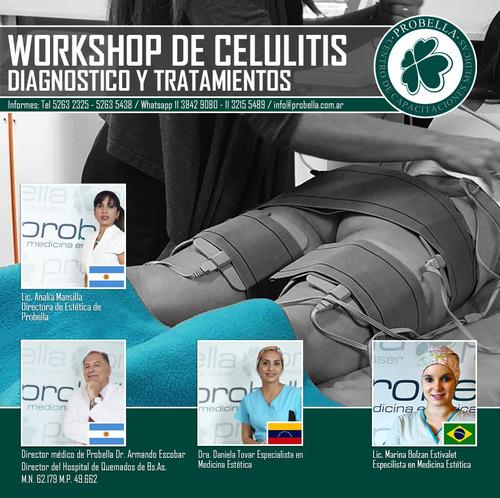 workshop de celulitis diagnostico y tratamientos 18/10
