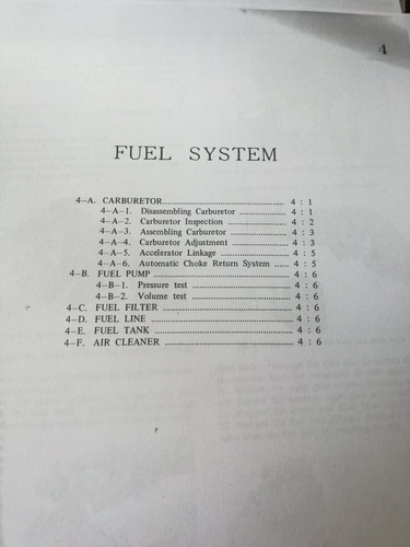 workshop manual mazda b1600 (1975)