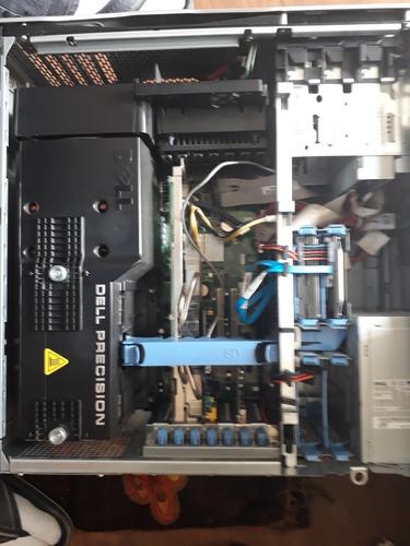 workstation dell precision 690 - 4 gb - 2 hds- nvidia fx4600