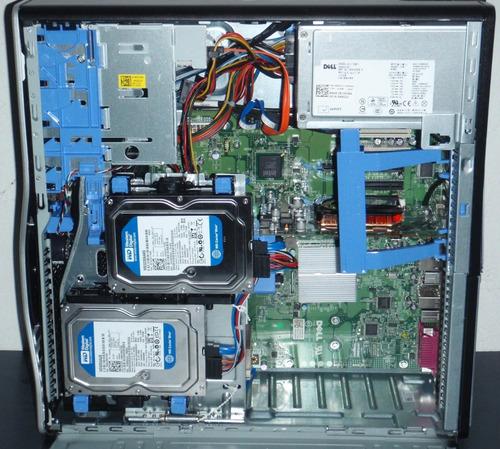 workstation dell t3500 six core w3690 24gb sem video hd