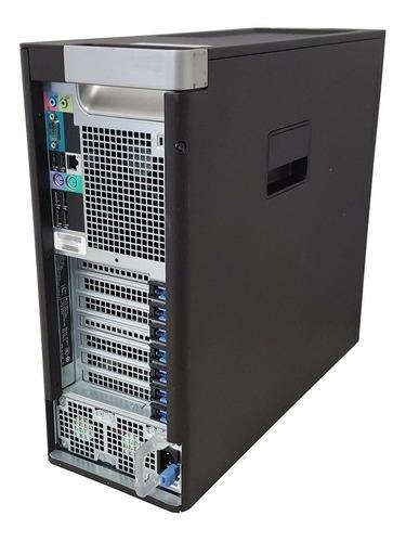 workstation dell t3600 16gb 2x 500gb placa 2gb seminovo