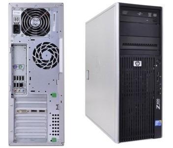 workstation hp z400 xeon 12gb + quadro 2000