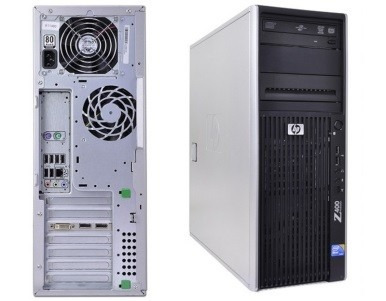 workstation hp z400 xeon 12gb +quadro fx1800