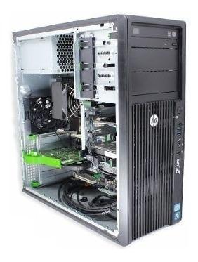workstation hp z420 xeon e5-1650 3.20ghz 64gb ddr3 500gb nf