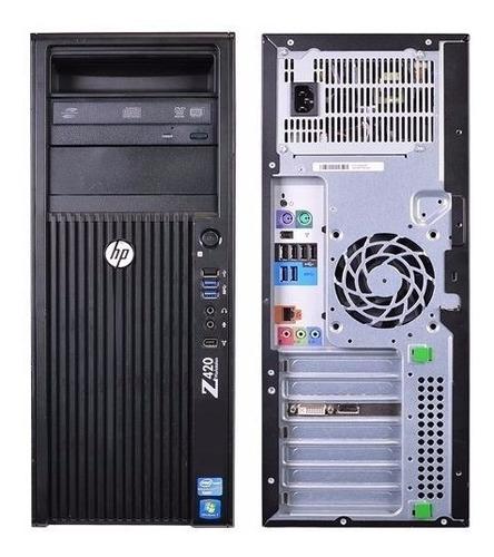 workstation hp z420 xeon e5-1650 v2 32gb