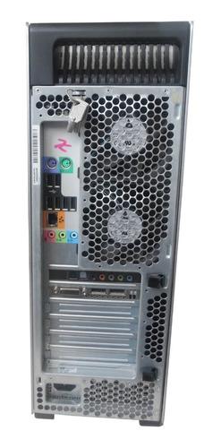 workstation hp z600 intel quad core quadro 8gb 1tb mon 18,5