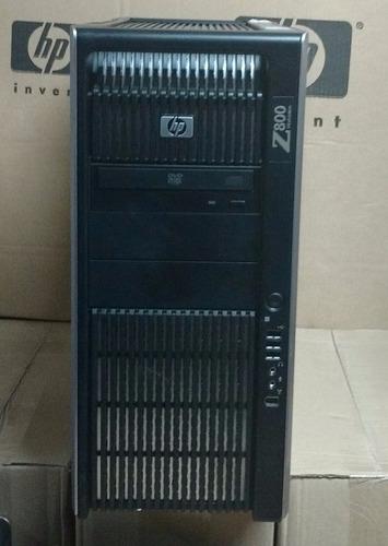 workstation hp z800 2x xeon x5680 48gb fx3800
