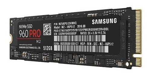 workstation intel i7-6950x 3ghz extreme 10c/20t, 512gb nvme