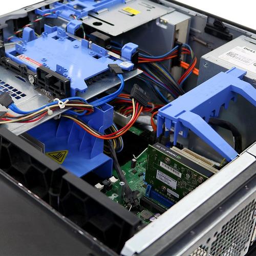 workstation precision dell t5500 xeone5620 4gb 160gb - usado