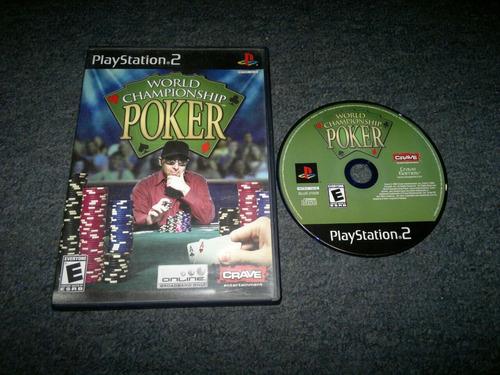 world championship poker sin instructivo para play station 2