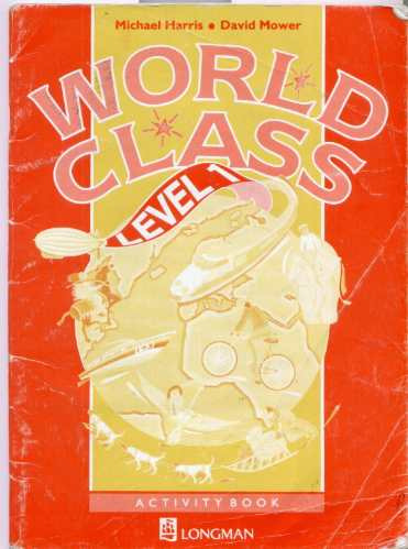 world class level 1 students book longman + activity d/regal
