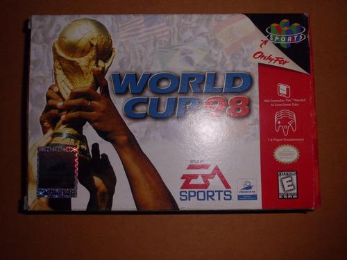 world cup 98 nintendo n64