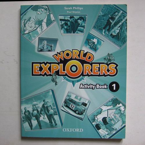 world explorers - activity book 1 - oxford nuevo