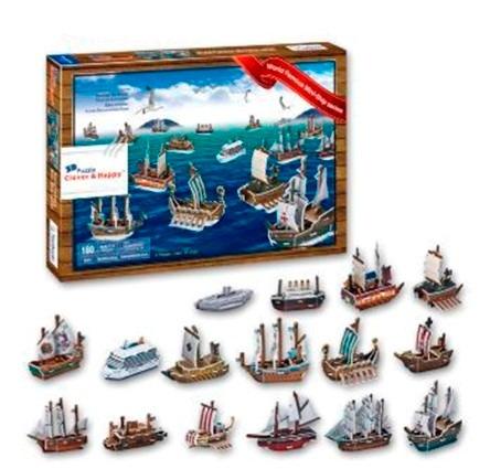 world famous mini ship series rompecabezas en 3d