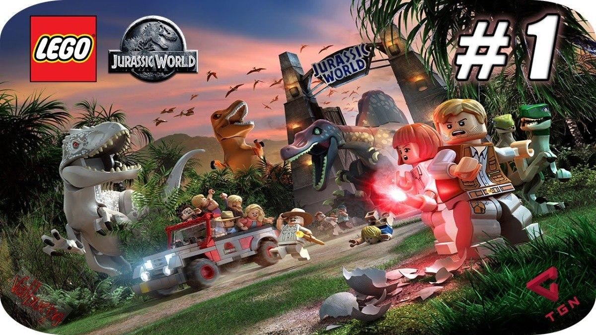Lego Jurassic World Juego Ps4 Nuevo Y Sellado En Espanol S 79 00