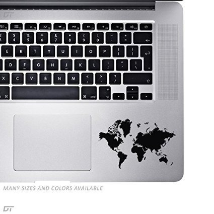 World map palm rest sticker decal para macbook pro pc po world map palm rest sticker decal para macbook pro pc po gumiabroncs Gallery