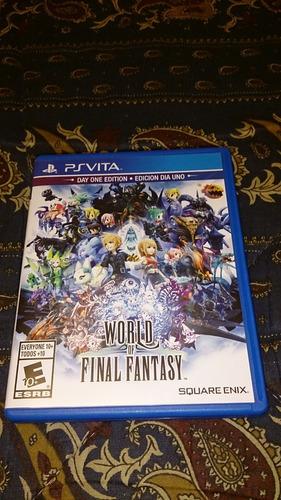 world of final fantasy juego ps vita