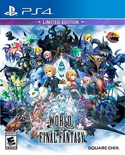 world of final fantasy limited edition - playstation 4