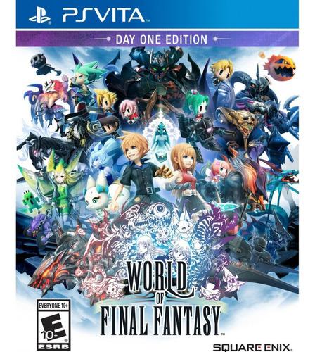 world of final fantasy ps4, disco, nuevo y sellado
