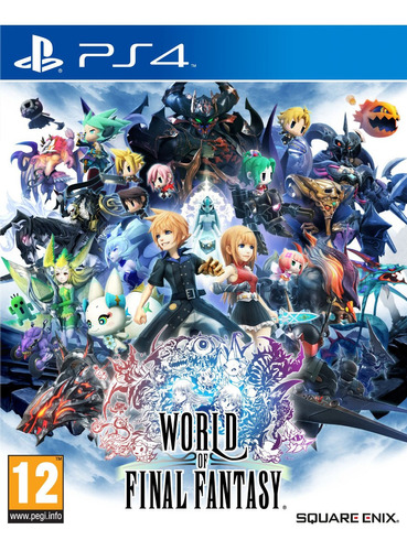 world of final fantasy  - ps4 - playstation 4