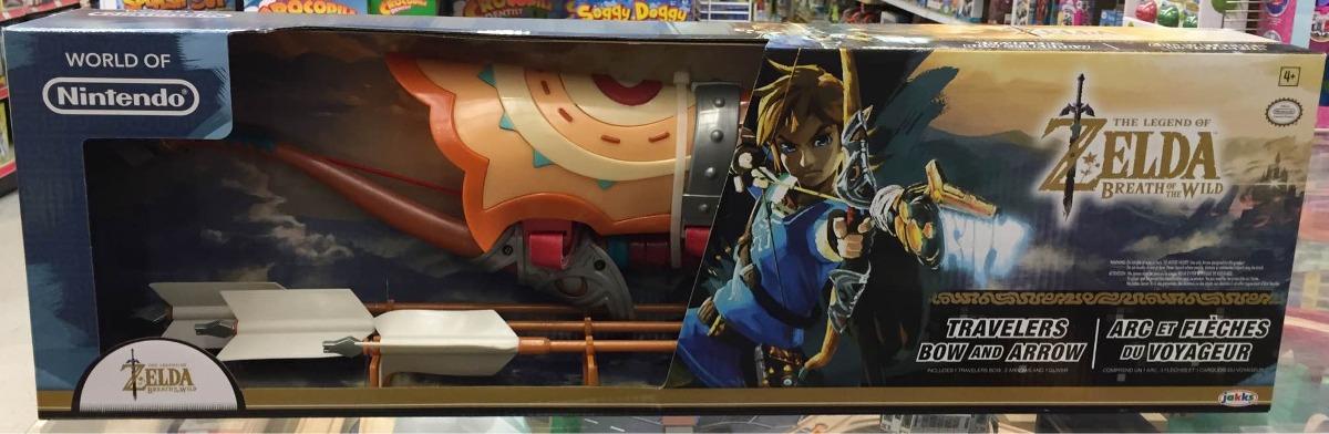 60d27a5c2 World Of Nintendo Arco Y Flechas Zelda Breath Of The Wild -   800.00 ...