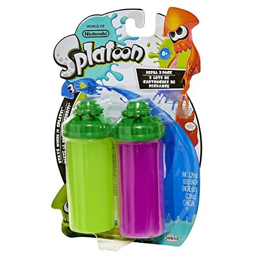 world of nintendo splatoon splattershot refill 2 pack lime g