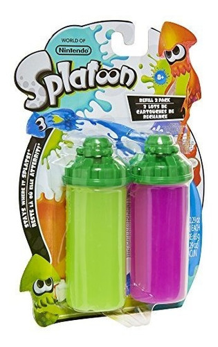 world of nintendo splatoon splattershot refill 2 pack lime g